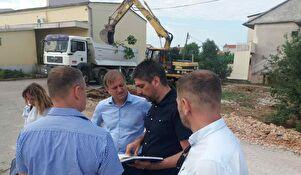 Gradonačelnik Dukić obišao radove u Šišgorićevoj ulici