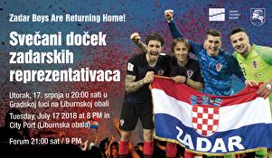 U utorak navečer - Zadar dočekuje svoje Vatrene