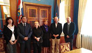 Delegacija veleposlanstva SAD-a u Zadru