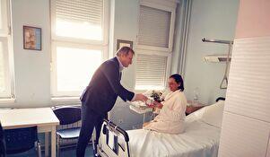 Gradonačelnik Dukić obišao zadarsko rodilište