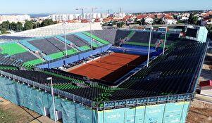 Stadion za humanitarni teniski spektakl Adria Tour na Višnjiku