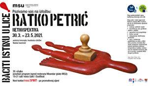 Retrospektiva Ratka Petrića u Muzeju suvremene umjetnosti Zagreb