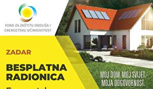 Radionica za energetsku obnovu obiteljskih kuća