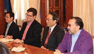 Gradonačelnik Kalmeta upriličio primanje za predstavnike veleposlanstava u RH