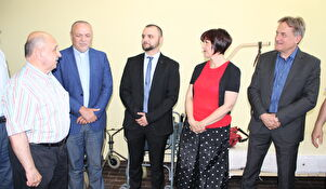 Gradonačelnik Kalmeta otvorio posudionicu medicinskih pomagala