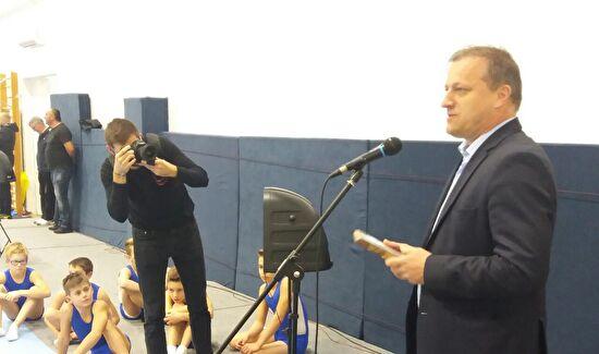 Gradonačelnik Dukić otvorio novu gimnastičku dvoranu na Višnjiku