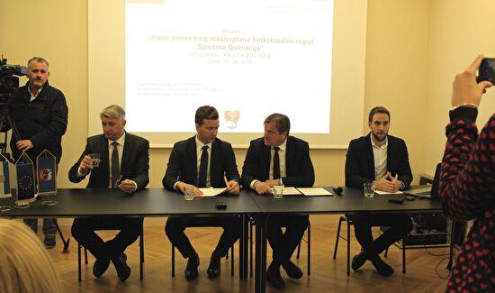 """Uvodna konferencija projekta """"Izrada prometnog masterplana funkcionalne regije Sjeverna Dalmacija"""""""