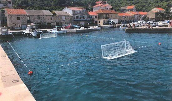 Grad Zadar nabavio novo igralište za vaterpolo na Malom Ižu