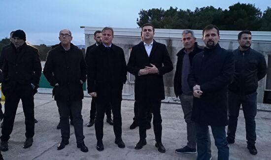 Ministar Ćorić obišao odlagalište otpada Diklo