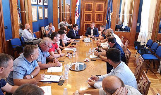 Sastanak Stožera Civilne zaštite Grada Zadra