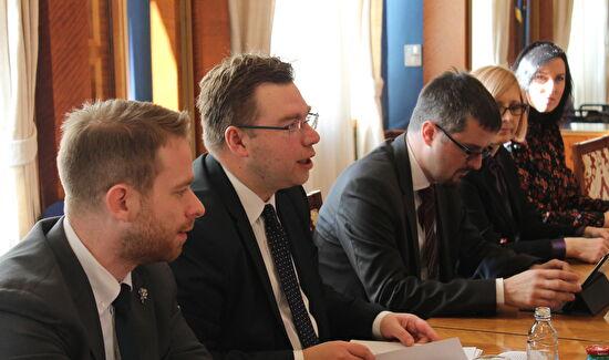 Gradonačelnik Dukić primio ministra regionalnog razvoja i fondova EU, Marka Pavića