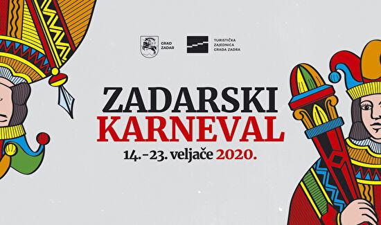 USTANOVE U KULTURI PRIKLJUČILE SU SE ZADARSKOM KARNEVALU 2020.!