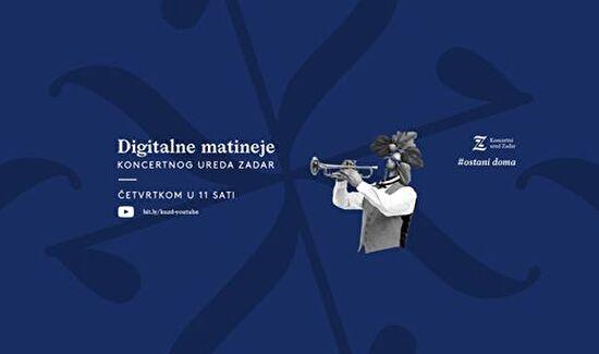 Druga digitalna matineja Koncertnog ureda Zadar