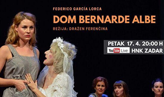 """PETKOM U 20:00 h - """"Dom Bernarde Albe"""""""