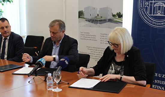 Grad Sveučilištu donirao 6,2 milijuna kuna