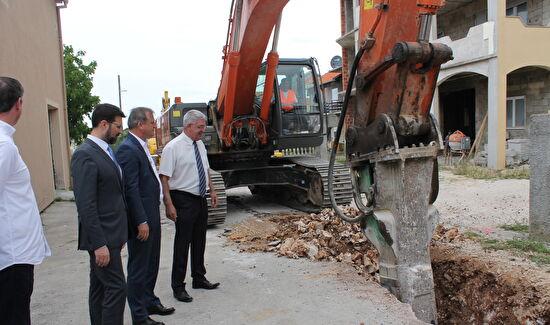 Izgradnja kanalizacijske mreže na području MO Sinjoretovo