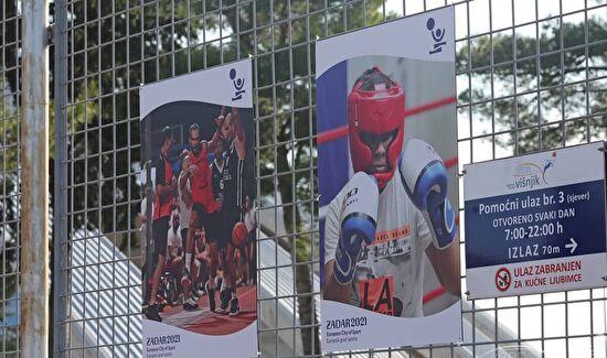 """Predstavljen logotip i fotografije """"Zadar, europski grad sporta"""""""