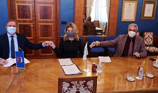 "Potpisan ugovor o kreditiranju ""Projekta poboljšanja vodno komunalne infrastrukture aglomeracije Zadar – Petrčane"""