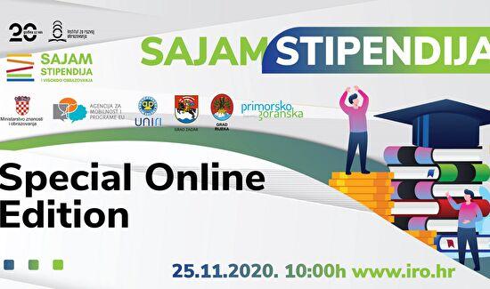 Danas se održava prvi virtualni Sajam stipendija i visokog obrazovanja