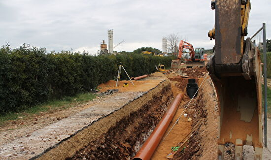Obilazak gradilišta sustava odvodnje