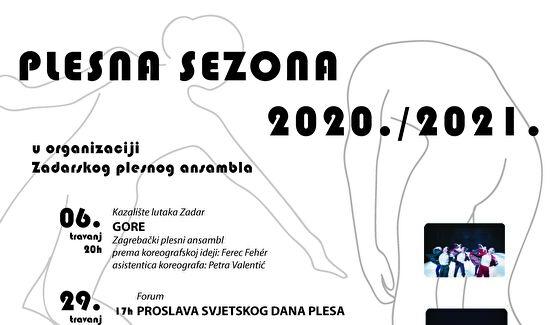 Nastavak Plesne sezone 2020. / 2021. Zadarskog plesnog ansambla