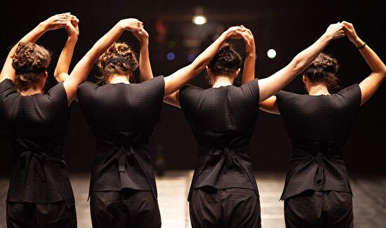 Predstava Gozd – danse macabre mlade autorice Matee Bilosnić
