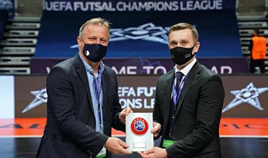 UEFA-ina zahvala Gradu Zadru i Športskom centru Višnjik