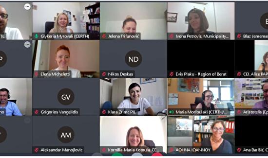 SUSTOURISMO - Četvrti virtualni projektni sastanak