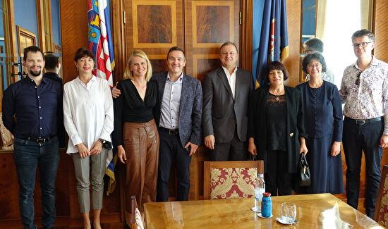 Gradonačelnik Dukić primio maestra Repušića - Svojom energijom i privrženošću Zadru dajete nam poticaj za projekt izgradnje nove koncertne dvorane