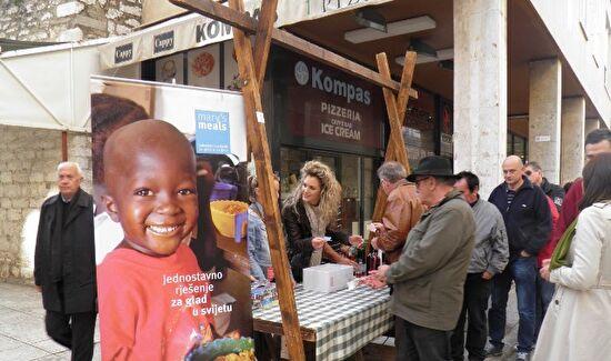 Humanitarna akcija za udrugu Marijini obroci