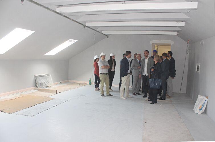 Gradonačelnik Božidar Kalmeta obišao gradilište Kneževe palače