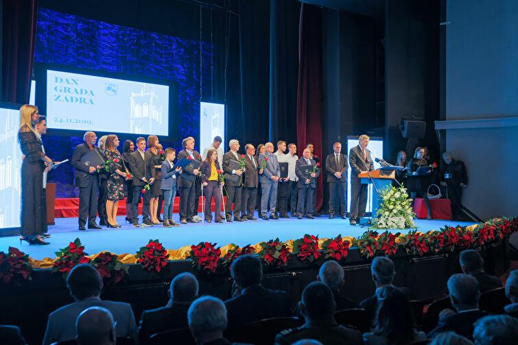 Svečana sjednica i dodjela Javnih priznanja povodom Dana grada Zadra