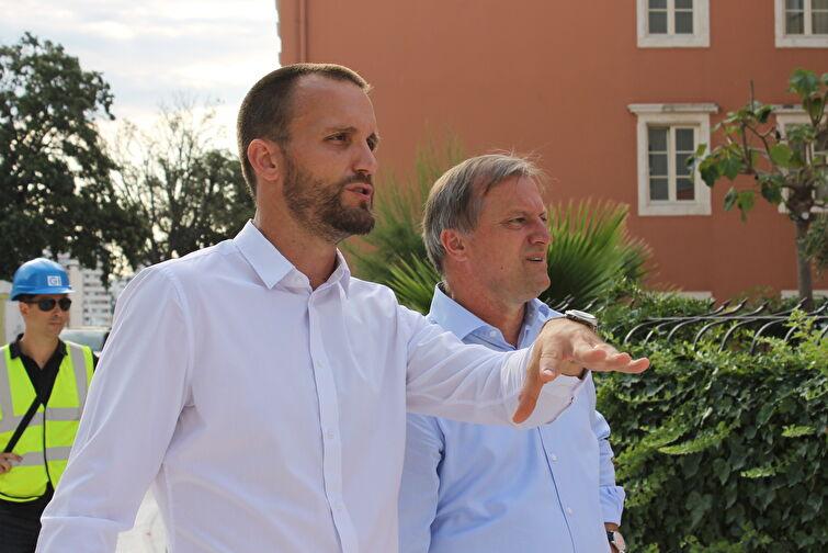 Gradonačelnik Dukić i Šime Erlić