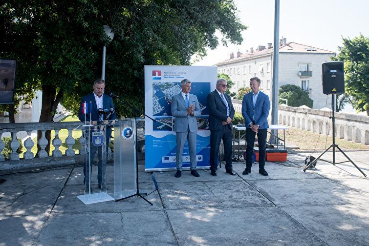 """Početna konferencija projekta obnove zadarske rive -""""Rekonstrukcija i izgradnja lučke infrastrukture Grad Zadar-Poluotok"""""""