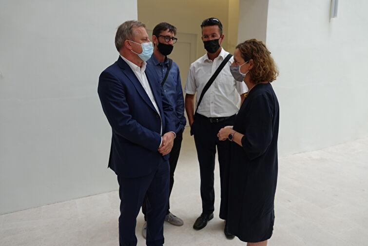 Radni sastanak i obilazak Providurove palače ministrice kulture i medija Nine Obuljen Koržinek
