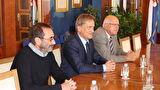 Gradonačelnik Božidar Kalmeta primio banjalučkog biskupa mons. dr. Franju Komaricu