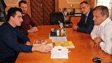 Gradonačelnik Dukić primio nagrađenog mladog zadarskog arhitekta, Krešimira Damjanovića