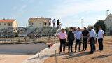 Gradonačelnik Dukić obišao nove teniske terene na Višnjiku