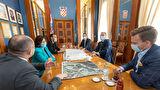 Pet zadarskih državnih tajnika na sastanku s gradonačelnikom Dukićem