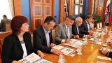 Predstavnici američke tvrtke Marathon oil posjetili Grad Zadar