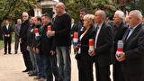Vijenci i svijeće za poginule za neovisnost Hrvatske