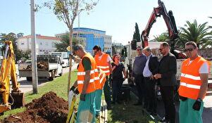 Nasadi posadili novi drvored na Branimirovoj obali