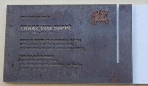 Svečano otkrivanje spomen-ploče Franzu von Suppèu