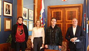 Mario Javoran kod gradonačelnika