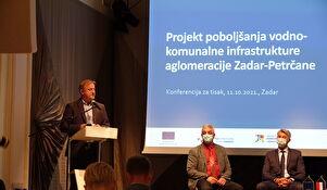 Projekt poboljšanja vodno-komunalne infrastrukture aglomeracije Zadar-Petrčane dobro napreduje