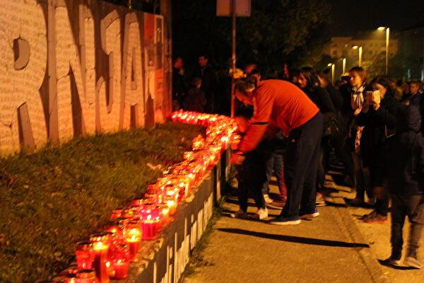 LokalnaHrvatska.hr Zadar Mimohod sjecanja na zrtve Vukovara i skabrnje- fotogalerija