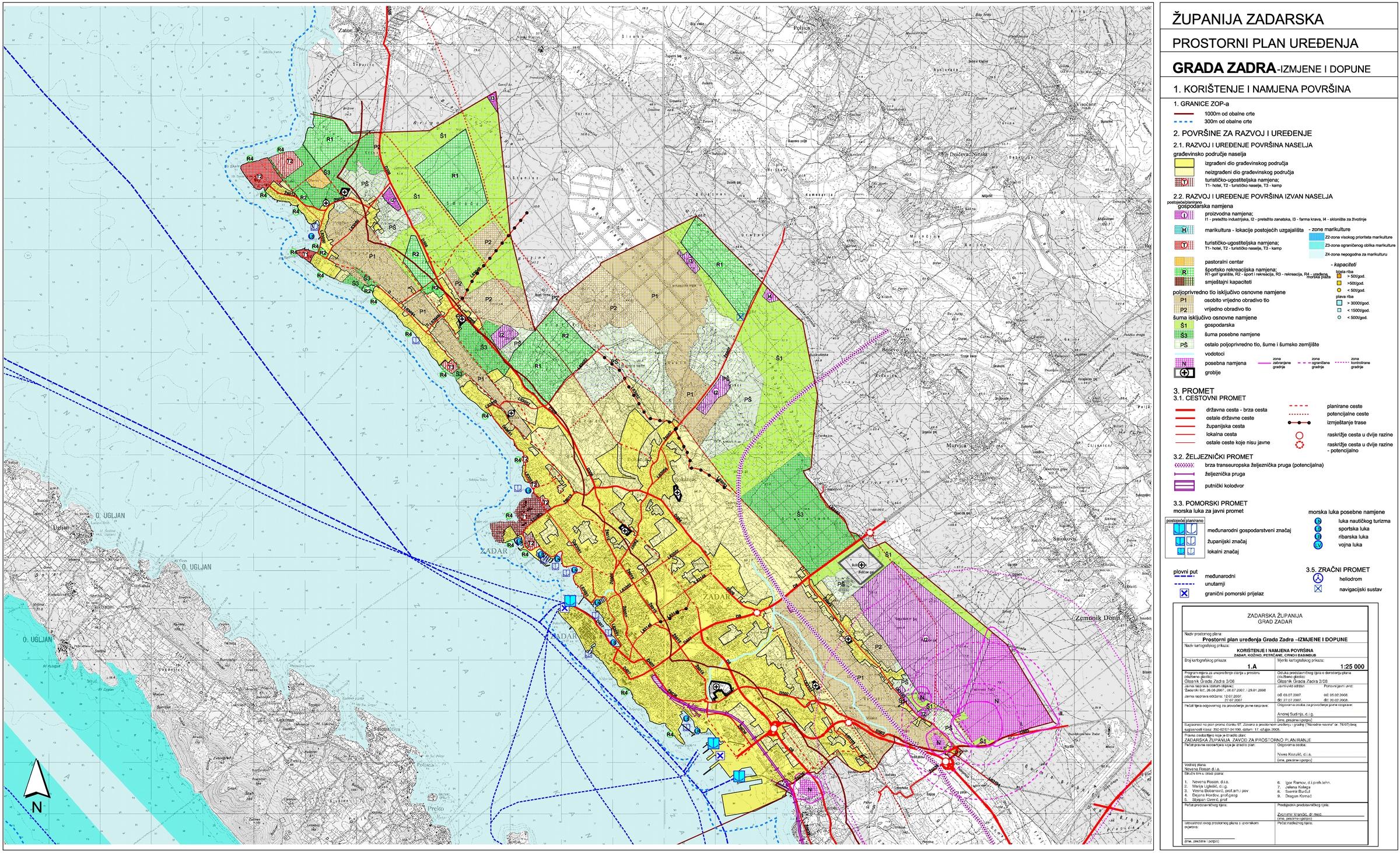 Planovi U Primjeni Grad Zadar Gradska Uprava